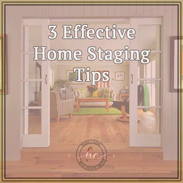 3 Effective Home Staging Tips