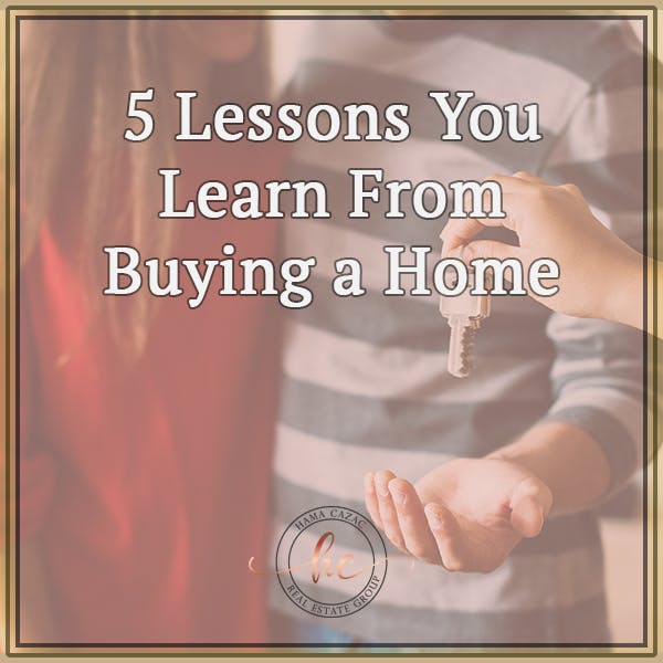 5 lessons from buying a home