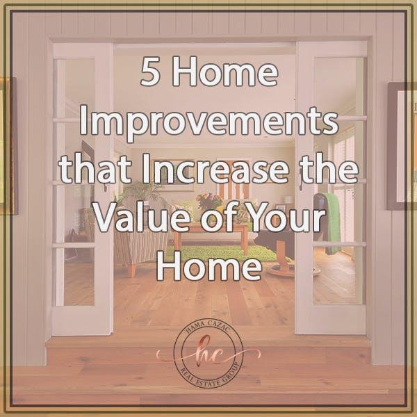 home improvement value increase
