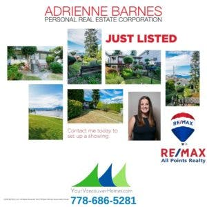 New Listing For Sale 2843 East 5th Avenue Vancouver by Adrienne Barnes