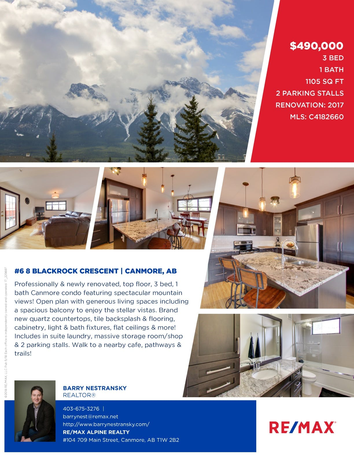 #6 8 Blackrock Crescent, Canmore