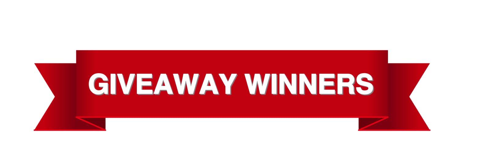 Giveaway Winners | Casey Duncan