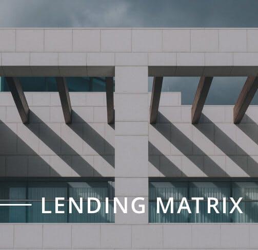 Lending Matrix