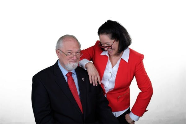 Dennis Kiffiak and Beatriz Fontana