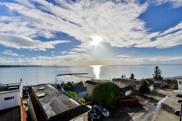 ocean view condos in white rock