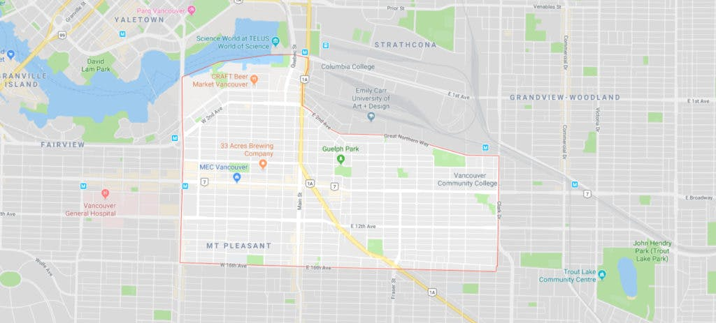 Mount Pleasant gmap